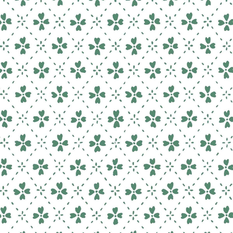 Anna Spiro Wallpaper 1 x Green Paniola Inverted Wallpaper Roll Anna Spiro Inverted Wallpaper 8 Colours