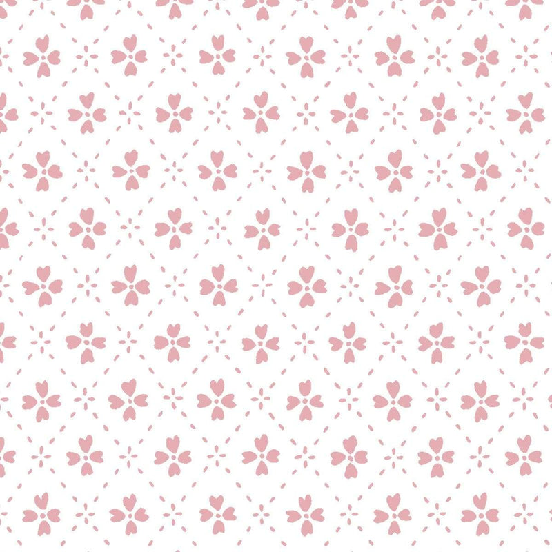 Anna Spiro Wallpaper 1 x Light Pink Paniola Inverted Wallpaper Roll Anna Spiro Inverted Wallpaper 8 Colours