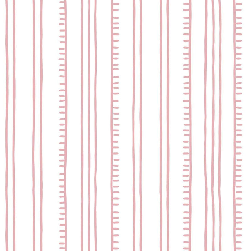 Anna Spiro Wallpaper 1 x Pale Pink Higgledy Stripe Wallpaper Roll Anna Spiro Higgledy Piggledy Stripe Wallpaper 5 colours