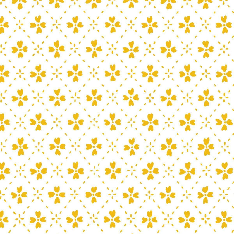 Anna Spiro Wallpaper 1 x Yellow Paniola Inverted Wallpaper Roll Anna Spiro Inverted Wallpaper 8 Colours