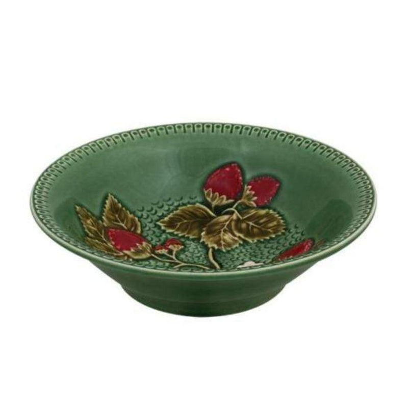 Bordallo Pinheiro platter 1 x Style 1 Strawberry Bowl Bowl Strawberry 2 Sizes