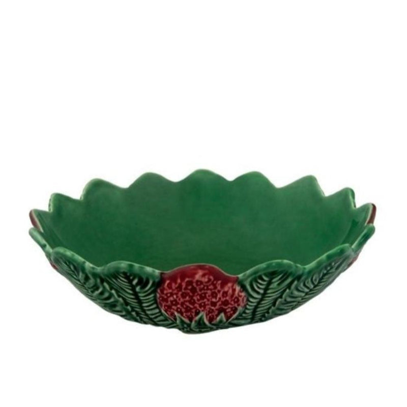 Bordallo Pinheiro platter 1 x Style 2 Strawberry Bowl Bowl Strawberry 2 Sizes