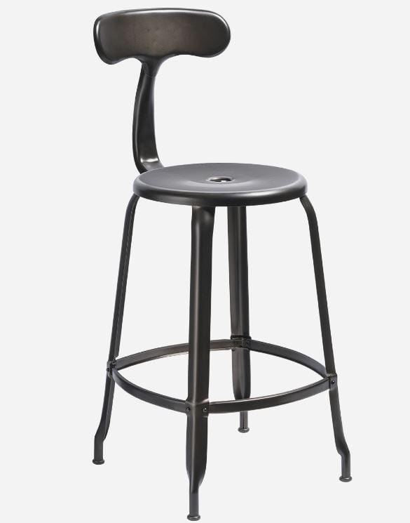 Chaises Nicolle Bar stools 1 x Matt Lazure Nicolle Bar Stool 60 cm Nicolle Bar Stool Medium 8 Colours