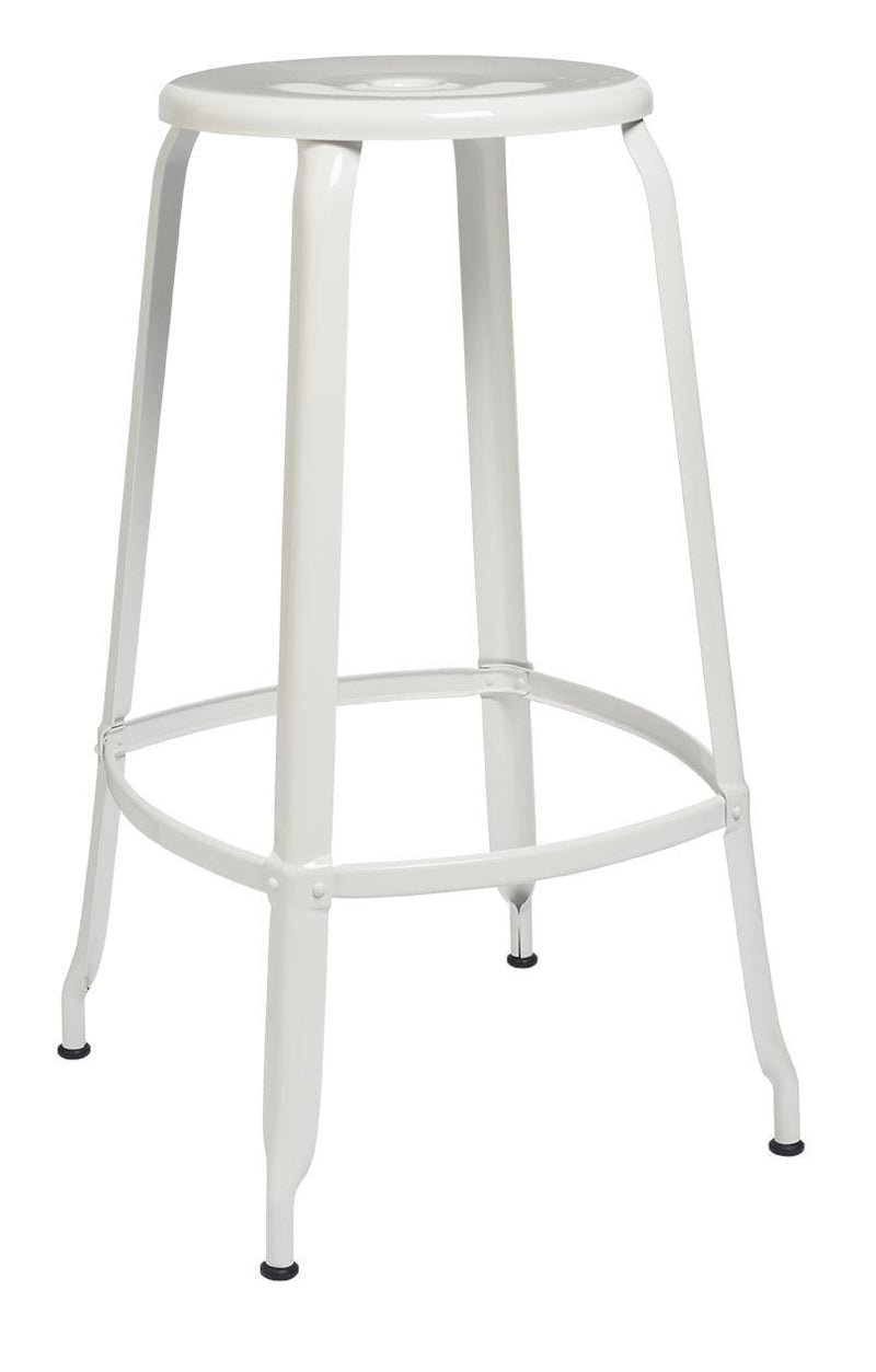 Chaises Nicolle Bar stools 1 x White Gloss Nicolle Stool 75 cm Nicolle Stool 75 cm High 8 Colours