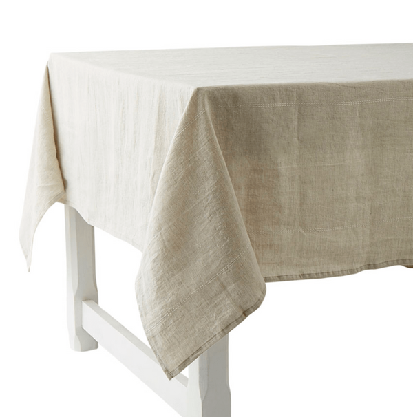Charvet Editions Table Cloth 1 x Table Cloth Rythmo Table Cloth French Rythmo