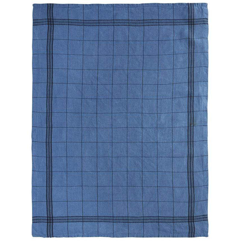 Charvet Editions Tea Towel 1 x Blue French Check Tea Towel Tea Towel French Check 3 Colours