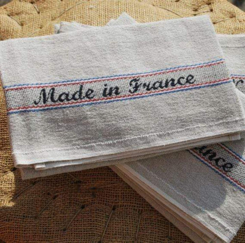 Charvet Editions Tea Towel 1 x Made In France Tea Towel Tea Towel Made In France