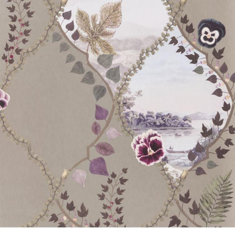 Christian Lacroix Wallpaper 1 x 1 x Coupe De Vent Crepusclue PCL7016/04  Wallpaper Roll Christian Lacroix Coupe De Vent Crepuscule Wallpaper