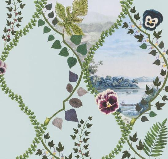 Christian Lacroix Wallpaper 1 x Coupe De Ven tPCL7016/03 Crepusclue Wallpaper Roll Christian Lacroix Coupe De Vent Crepuscule Wallpaper