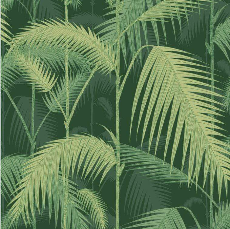 Cole and Son Palm Wallpaper 1 x 112/1003 Palm Jungle 112/1003 Wallpaper Roll Cole & Son Palm Jungle Wallpaper 11 Colours