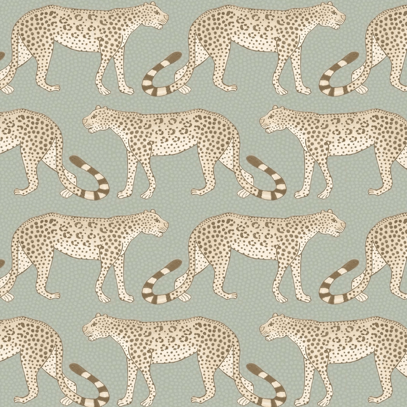 Cole and Son Wallpaper 1 x Roll Leopard Walk Wallpaper 109/2009 Cole and Son Ardmore Leopard Wallpaper 5 Colours