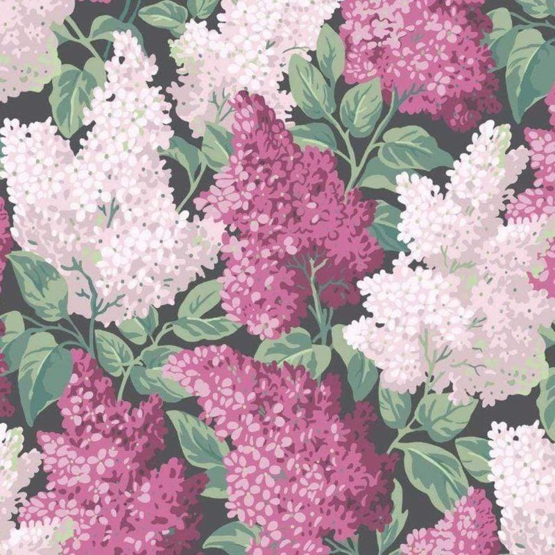 Cole and Son Wallpaper 1 x Roll Lilac 115/1001 Wallpaper Cole and Son Botanical Botanica Lilac Wallpaper 4 colours