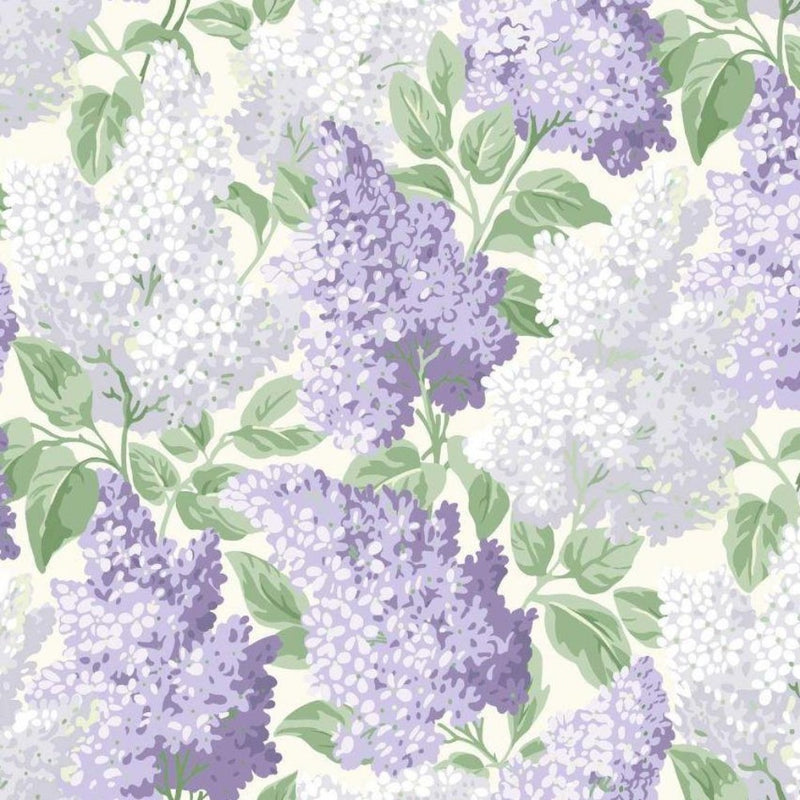 Cole and Son Wallpaper 1 x Roll Lilac 115/1004 Wallpaper Cole and Son Botanical Botanica Lilac Wallpaper 4 colours