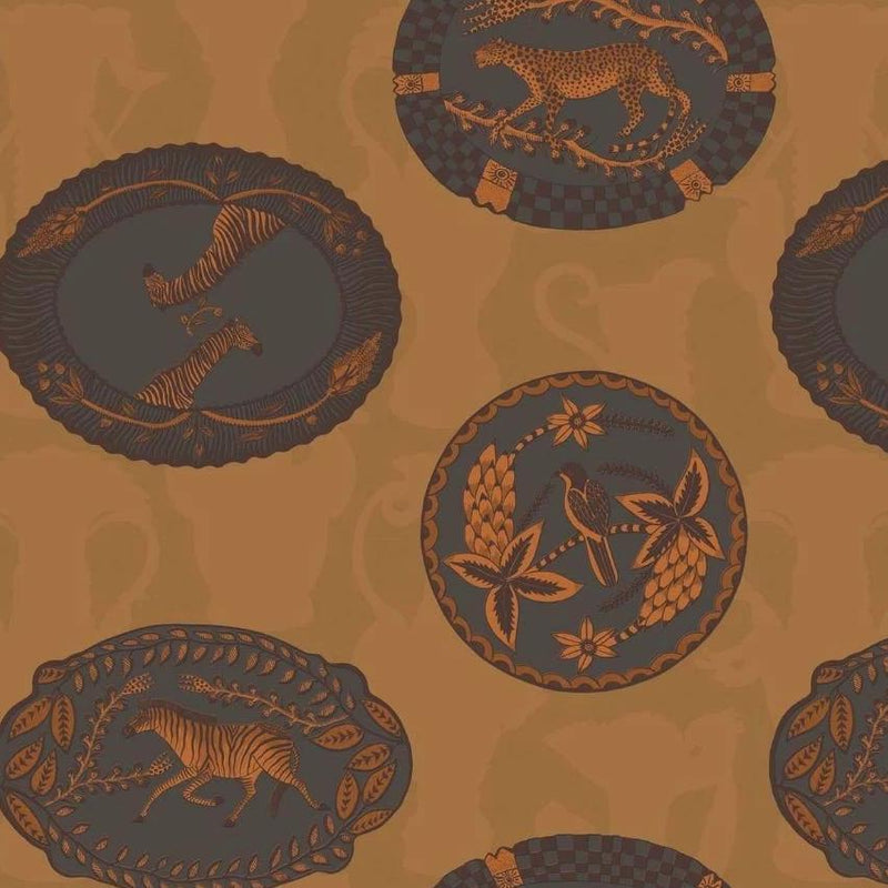 Cole and Son Wallpaper 1 x Roll Matrinah Wallpaper 109/4022 Cole and Son Ardmore Matrinah Wallpaper 5 Colours