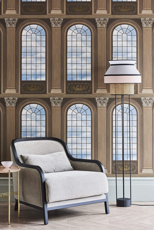 Cole and Son Historic Royal Palaces Grand Masters Verrio Sky Wallpaper