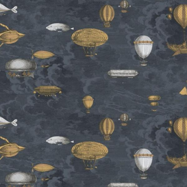 Cole and Son Wallpaper 97/1002  Roll A&B Macchine Volanti Wallpaper Cole and Son Fornasetti Macchine Volanti Wallpaper 4 Colours