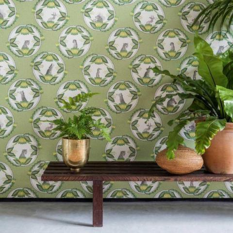 Cole and Son Wallpaper Cole and Son Ardmore Cameos Wallpaper 4 Colours