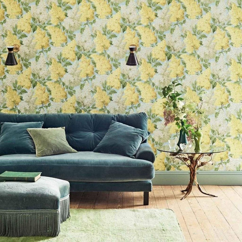 Cole and Son Wallpaper Cole and Son Botanical Botanica Lilac Wallpaper 4 colours
