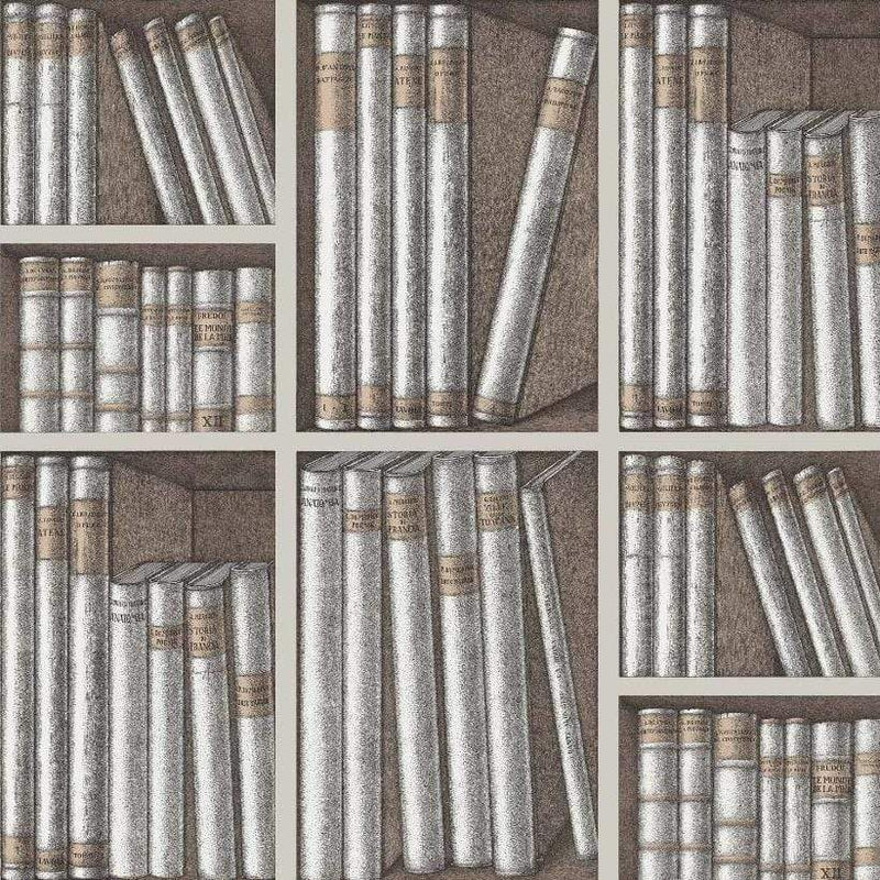 Cole and Son Wallpaper Cole and Son Fornasetti Ex Libris Wallpaper 3 Colours