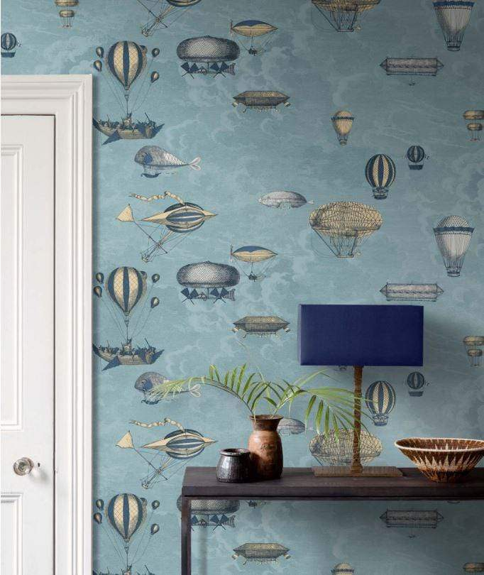 Cole and Son Wallpaper Cole and Son Fornasetti Macchine Volanti Wallpaper 4 Colours