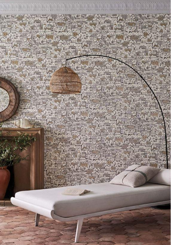 Cole and Son Wallpaper Cole and Son Fornasetti Mediterranea Wallpaper 2 colours