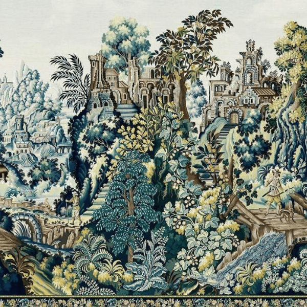 Cole and Son Wallpaper Cole and Son Historic Royal Palaces Grand Masters Vendure Tapestry Wallpaper