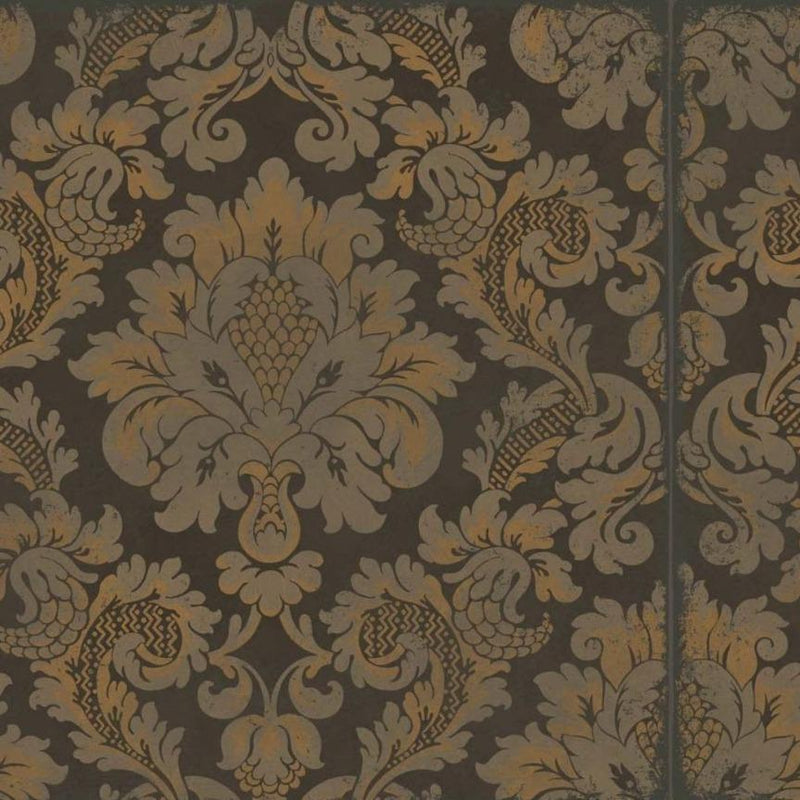 Cole & Son Wallpaper 1 x Charcoal & Bronze Stravinsky Wallpaper Roll Cole & Son Stravinsky Wallpaper 5 Colours