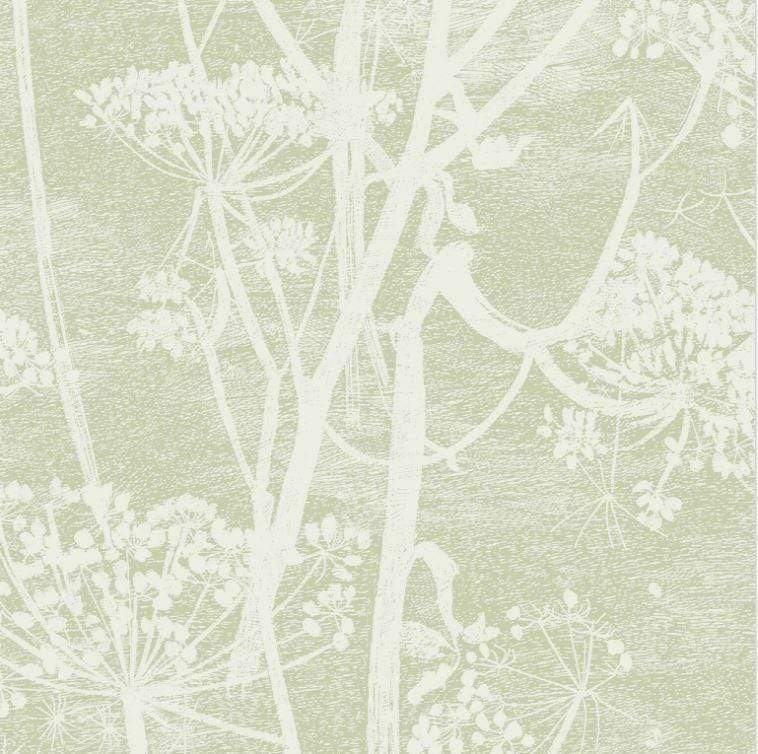 Cole & Son Wallpaper 1 x Roll Cow Parsley 112/8029 Wallpaper Cole & Son Icons Cow Parsley Wallpaper