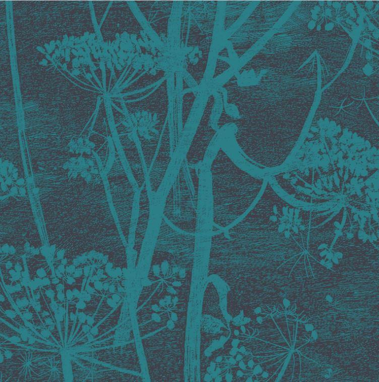 Cole & Son Wallpaper 1 x Roll Cow Parsley 112/8030 Wallpaper Cole & Son Icons Cow Parsley Wallpaper