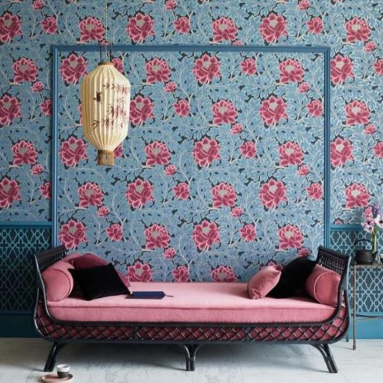 Cole & Son Wallpaper Cole and Son The Pearwood Aurora Wallpaper