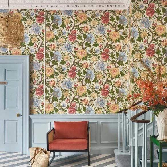 Cole & Son Wallpaper Cole and Son The Pearwood Midsummer Bloom Wallpaper