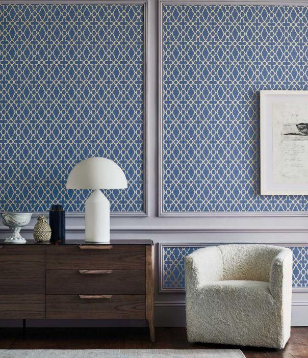 Cole & Son Wallpaper Cole and Son The Pearwood Treillage Wallpaper
