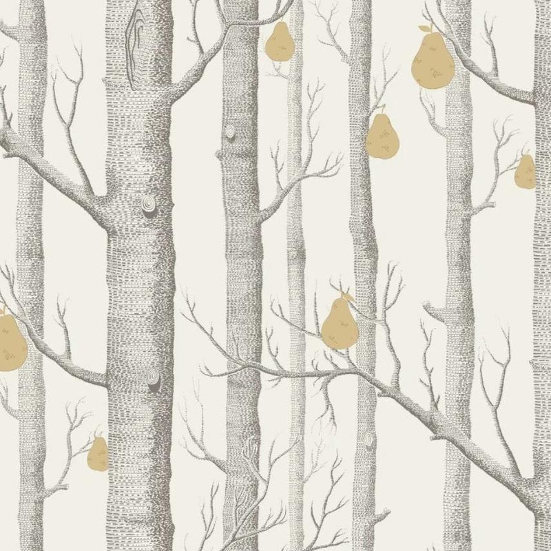 Cole & Son Woods Wallpaper 1 x Roll Woods & Pears 95/5032 Wallpaper Cole & Son Woods and Pears Wallpaper 6 Colours