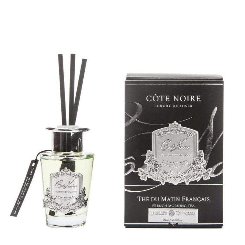 Côte Noire Diffuser 1 x 100ml French Morning Tea Diffuser Diffuser French Morning Tea Cote Noire 2 sizes