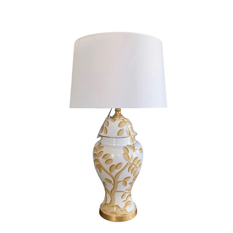 Dana Gibson Table Lamp 1 x Clivedon Lamp & Shade 38/40 cm x 28 cm Dana Gibson Cliveden Lamp