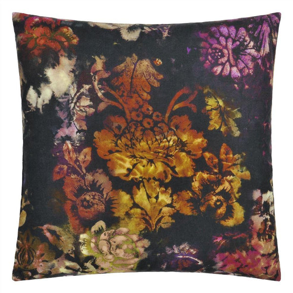 Designers Guild Cushions 1 x Midnight Tarbana Cushion Designers Guild Tarbana Amethyst Cushion