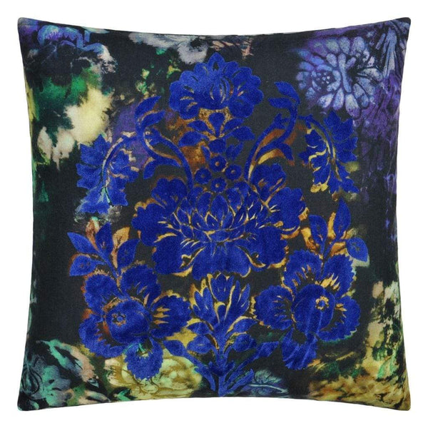 Designers Guild Cushions 1 x Midnight Tarbana Cushion Designers Guild Tarbana Midnight Cushion