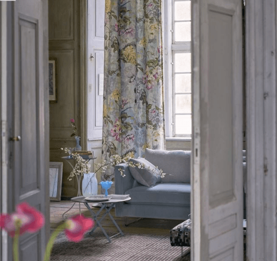Designers Guild Upholstery Fabric Designers Guild Delft Flower Fabric 3 Colourways