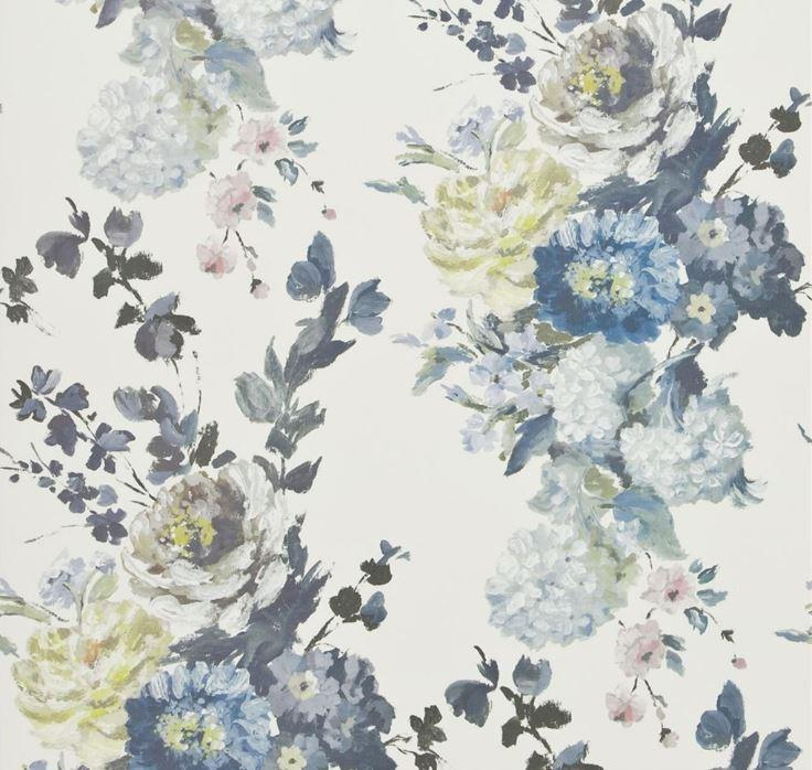 Designers Guild Wallpaper 1 x Delft Seraphina Wallpaper Roll Designers Guild Seraphina Wallpaper 2 Colourways
