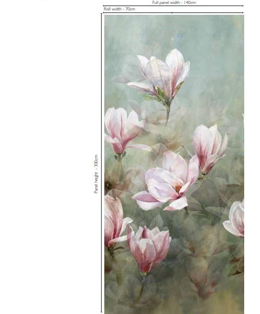 Designers Guild Wallpaper Yulen Magnolia Wallpaper Roll Designers Guild Yulen Magnolia Wallpaper