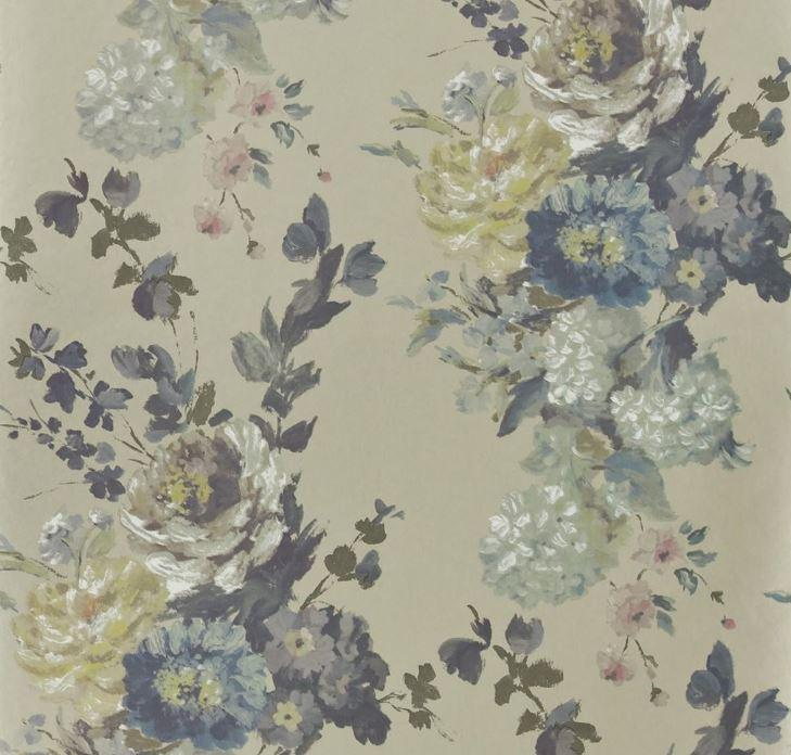 Designers Guild Wallpaper 1 x Silver P610/03 Seraphina Wallpaper Roll Designers Guild Seraphina Wallpaper 2 Colourways