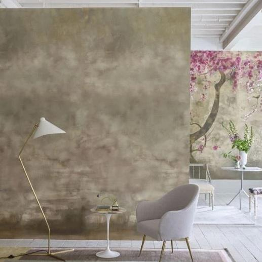 Designers Guild Wallpaper 1 x Suisa Sepia Wallpaper (2-3 week delivery) Designers Guild Suisa Sepia Wallpaper