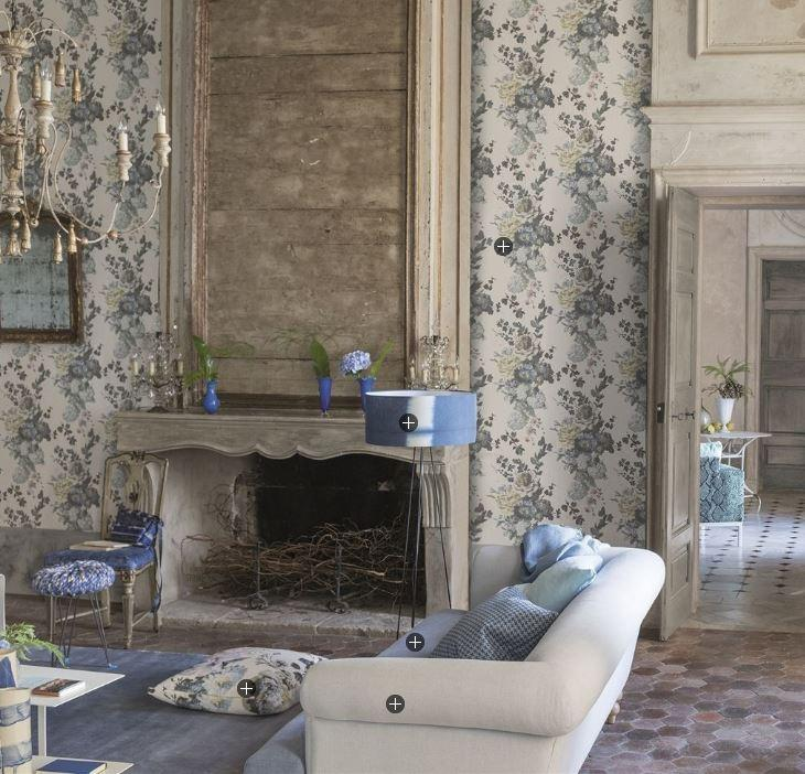 Designers Guild Wallpaper Designers Guild Seraphina Wallpaper 2 Colourways