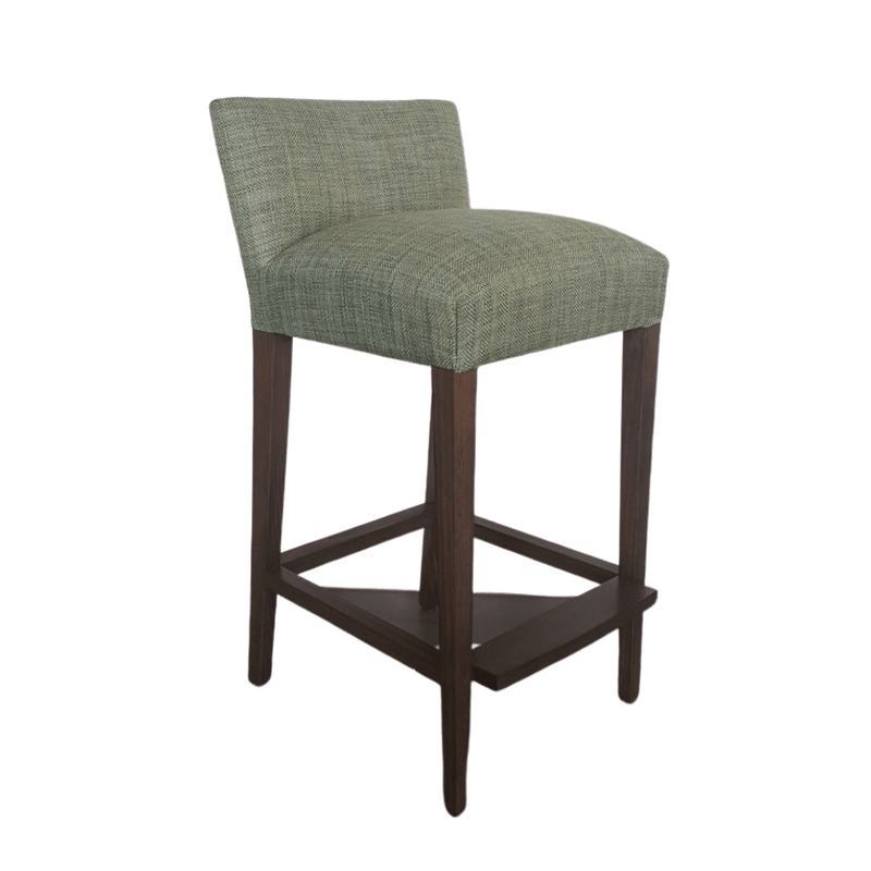 Gaudion Bar Stools 1 x Bar stool plus fabric Upholstered Bar Stools