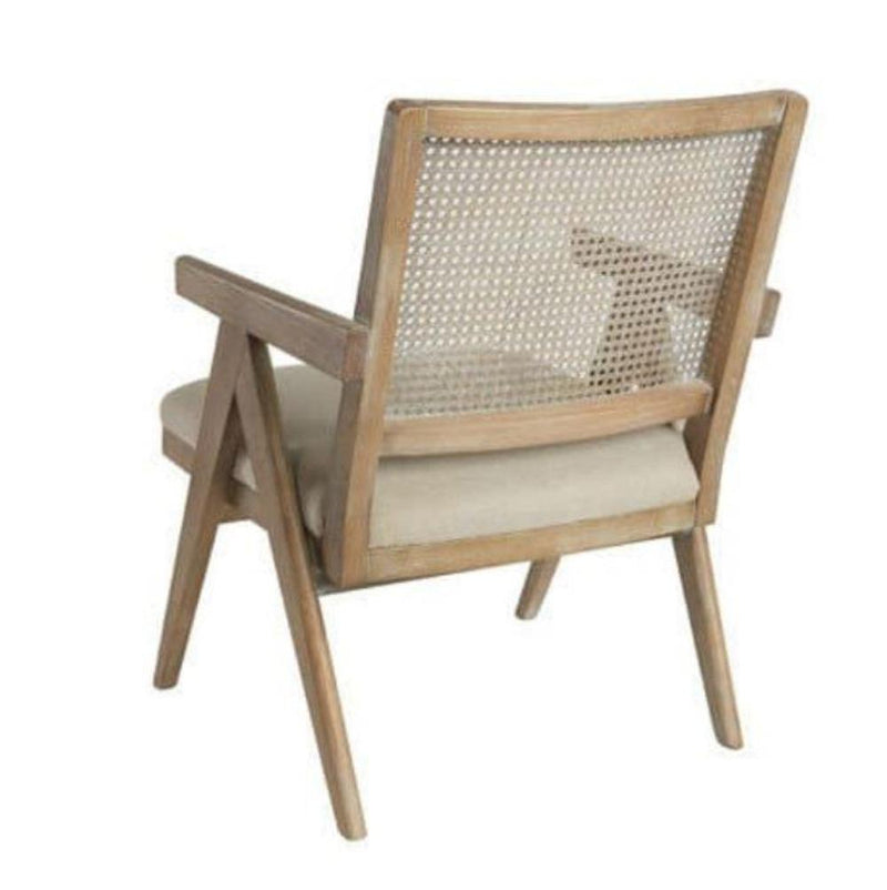 Gaudion Furniture Armchair Cane Back Armchair