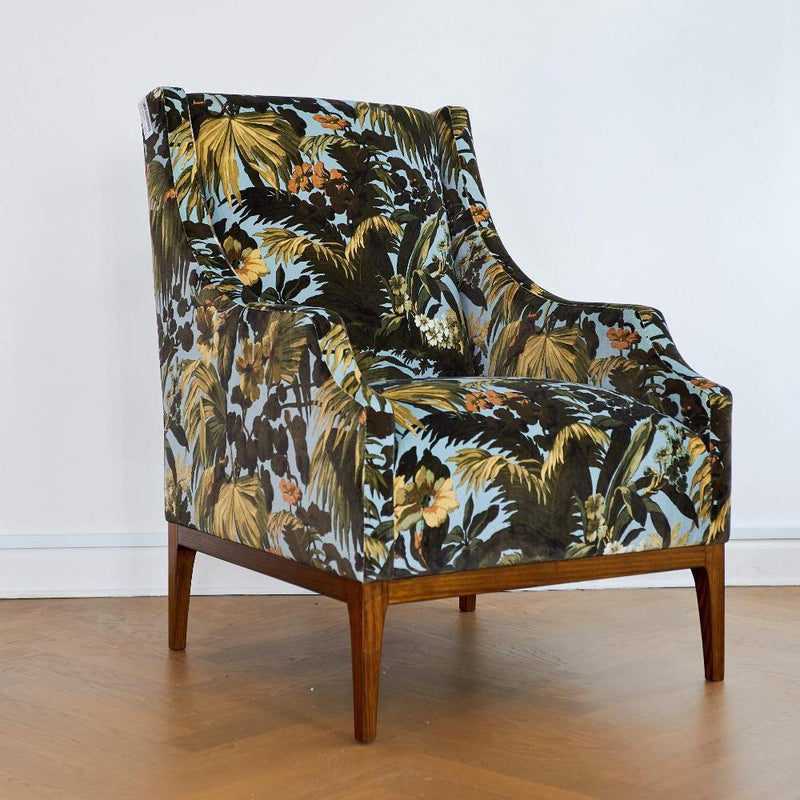 Gaudion Furniture Armchairs Bergeres 1 x Victor Chair Plus 5 metres of fabric Victor Armchair Custom Made