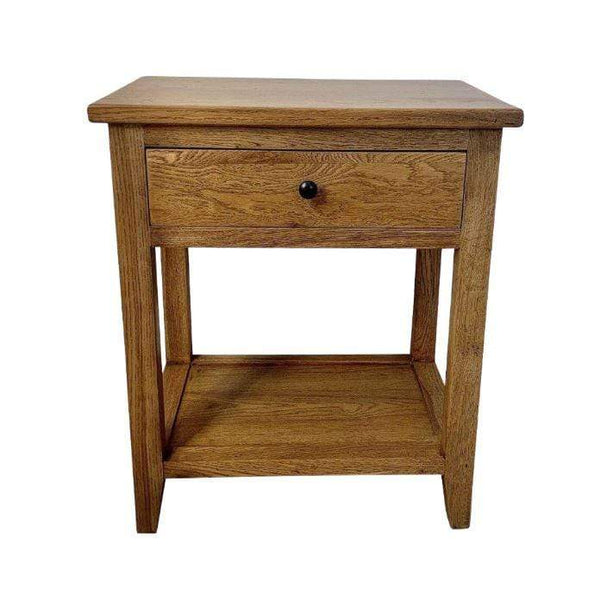 Gaudion Furniture Bedside Tables 1 x Tapered Leg Bedside with Tray Tapered Leg Bedside Table With Tray