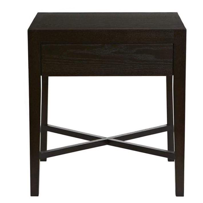 Gaudion Furniture Bedside Tables Ascot Mocca Bedside Table