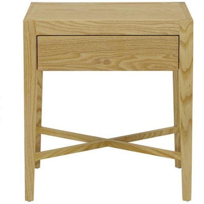 Gaudion Furniture Bedside Tables Ascot Natural Bedside Table