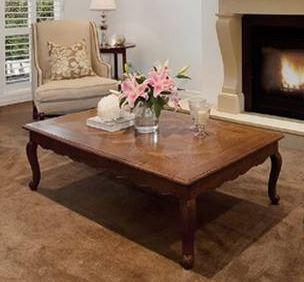 Gaudion Furniture Coffee Table French Provincial Coffee Table
